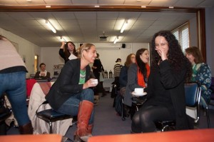 Lively discussions on memory took place in the coffee breaks too!